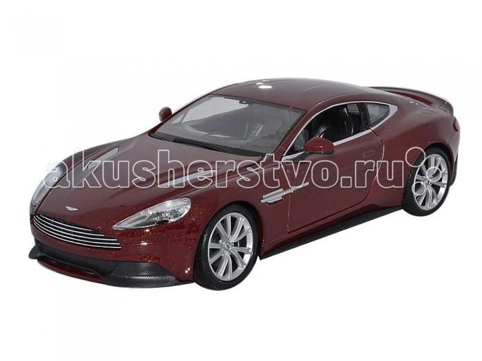 Машины Welly Модель машины 1:24 Aston Martin Vanquish welly 24018 велли модель машины 1 24 bentley continental supersports