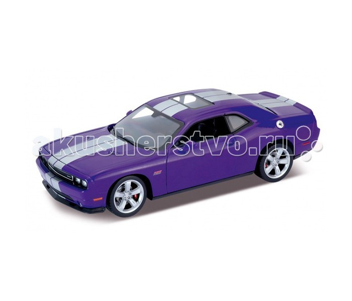 Машины Welly Модель машины 1:24 Dodge Challenger Srt лодка intex challenger k1 68305