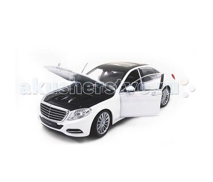 Машины Welly Модель машины 1:24 Mercedes-Benz S-Class welly модель машины 1 24 aston martin v12 vantage welly