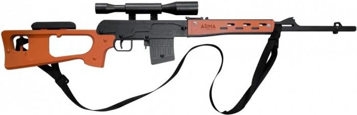 Игрушечное оружие A Резинкострел Снайперская винтовка СВД