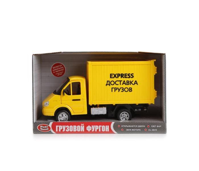 Машины, Play Smart Машина фургон Доставка грузов  - купить со скидкой