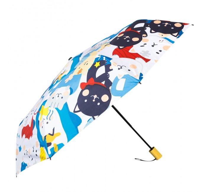 Зонты Kawaii Factory складной Яркие коты