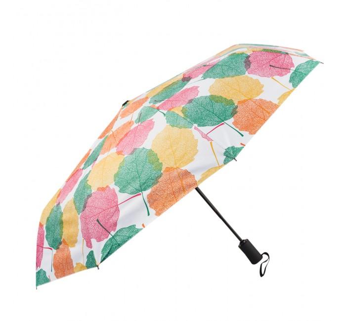 Зонты Kawaii Factory складной Разноцветные листья