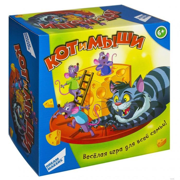 Купить Настольные игры, Dream makers Игра детская настольная Кот и мыши