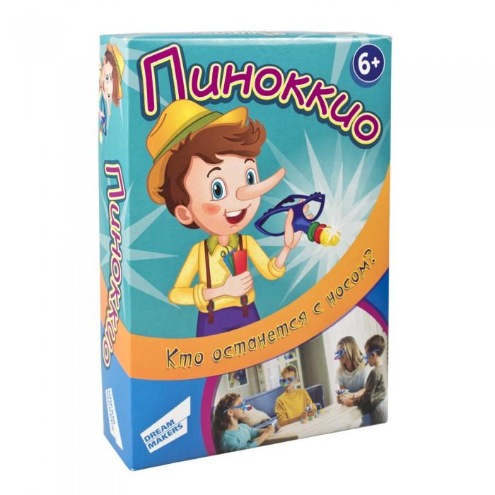 Настольные игры Dream makers Игра детская настольная Пиноккио виброизоляция dream car 4 1 шт