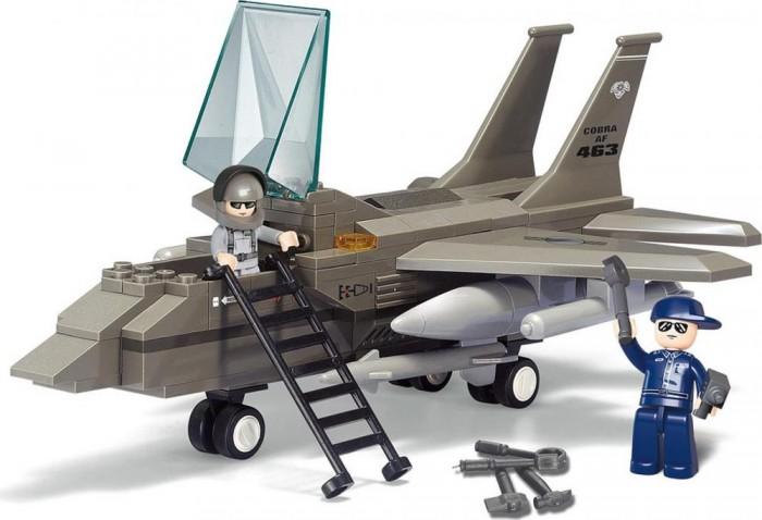 Картинка для Конструкторы Sluban Воздушные войска Истребитель F15 (142 детали)