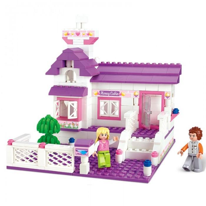 Картинка для Конструкторы Sluban Розовая мечта Частный дом (193 детали)