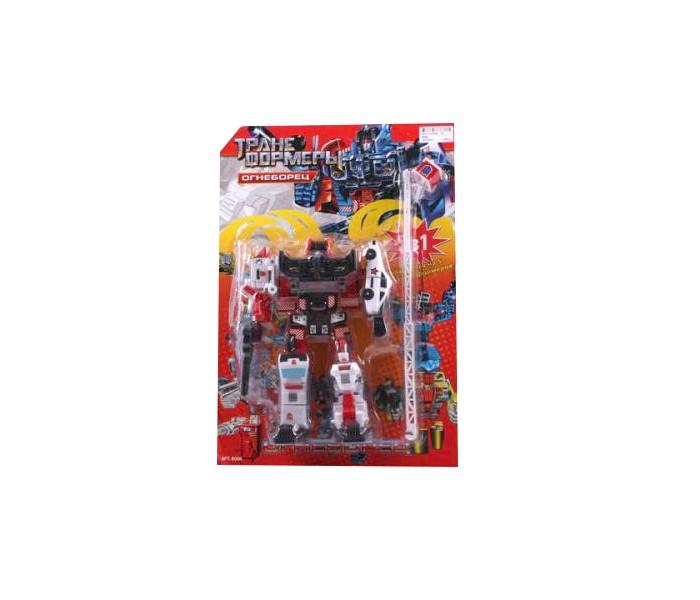 Купить Роботы, Play Smart Робот-трансформер Огнеборец 5 в 1 с аксессуарами 41 см