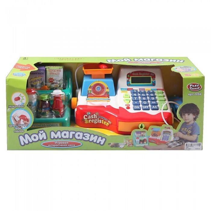 Купить Ролевые игры, Play Smart Кассовый аппарат с весами и микрофоном