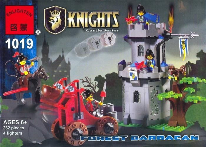 Картинка для Конструкторы Enlighten Brick Крепость с аксессуарами (262 детали)