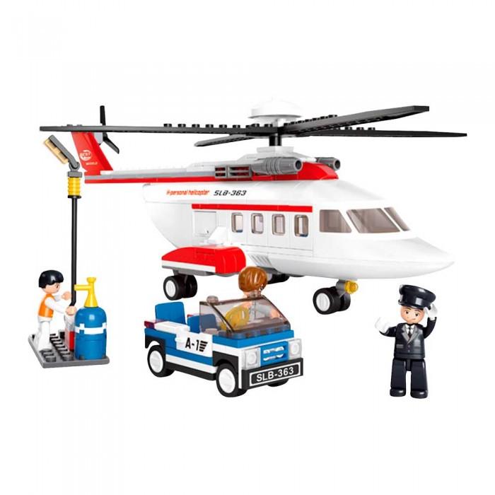 Картинка для Конструкторы Sluban Вертолет (259 деталей)