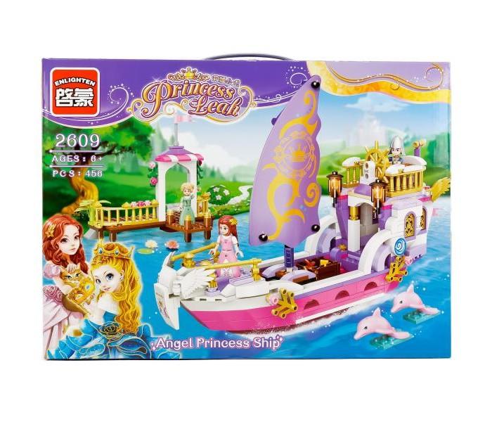 Конструкторы Enlighten Brick Корабль принцессы с фигурками (456 деталей) конструкторы enlighten brick полицейская машина с фигурками 190 деталей