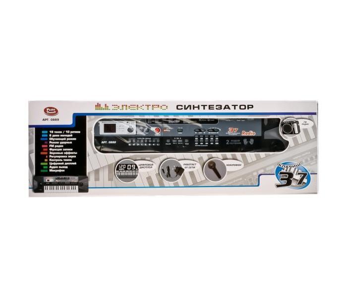 Купить Музыкальные инструменты, Музыкальный инструмент Play Smart Электросинтезатор с микрофоном 37 клавиш
