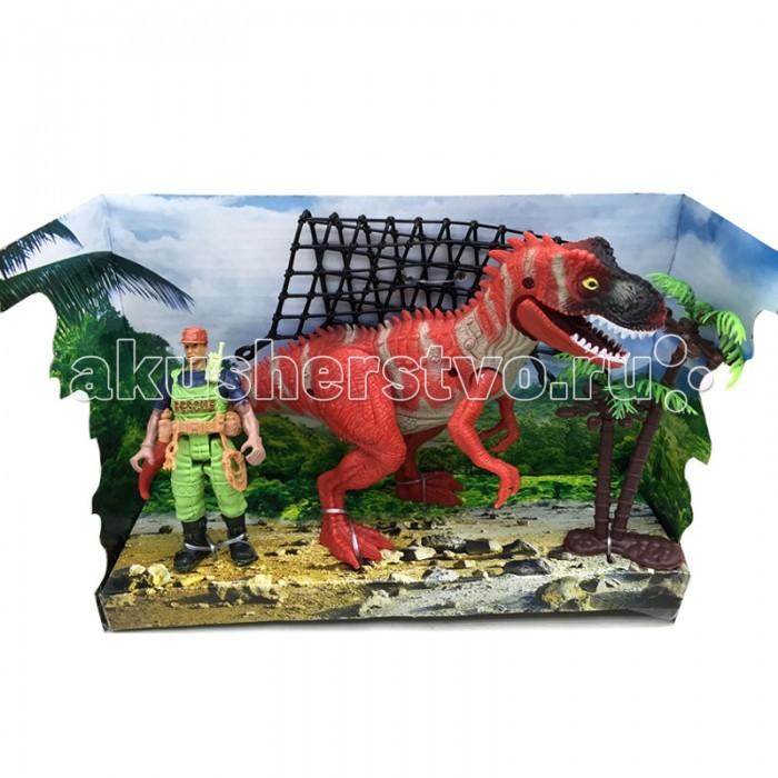 Игровые фигурки Happy Kin Набор динозавров 41093 маврина л наклейки для самых маленьких вып 3 сова isbn 978 5 906889 76 8