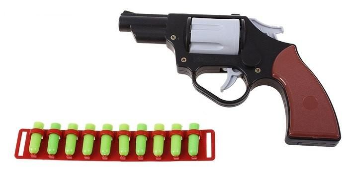 Игрушечное оружие Форма Револьвер игрушечное оружие gonher игрушка набор ковбой револьвер кобура 150 0