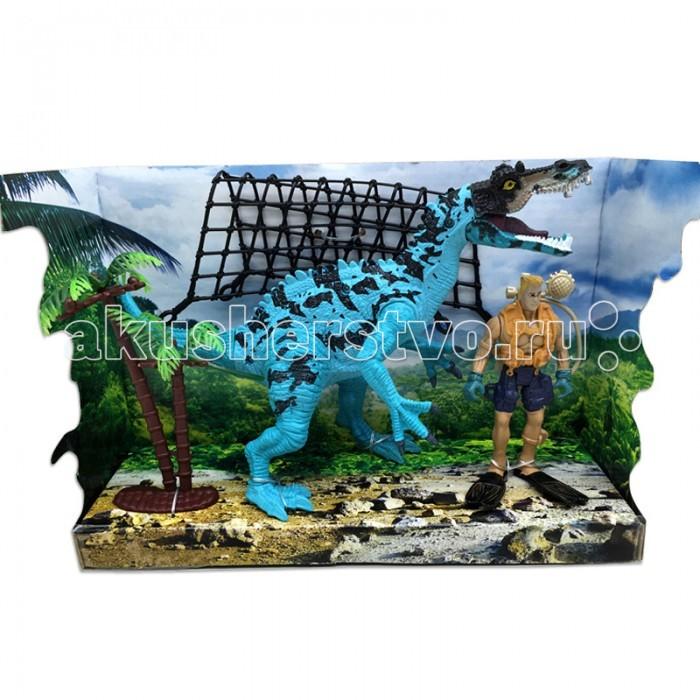 Игровые фигурки Happy Kin Набор динозавров 41094 игровые наборы esschert design набор игровой kg118