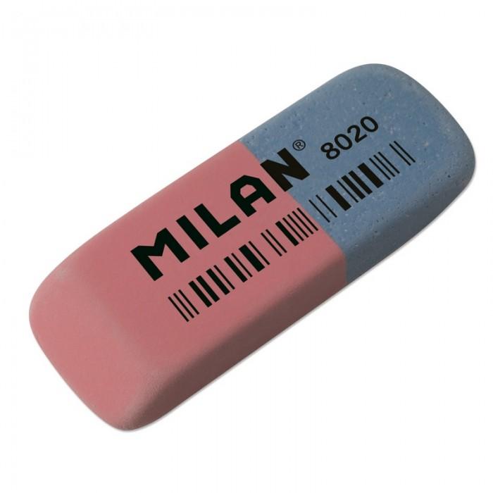 Канцелярия Milan Ластик каучуковый комбинированный для стирания чернил и графита 8020 kylinsport ленты для разминки аэробика и фитнес для спортивного зала ластик