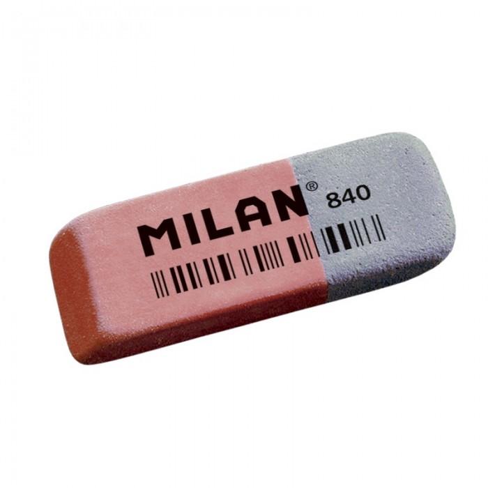 Канцелярия Milan Ластик каучуковый комбинированный для стирания чернил и графита 840 kylinsport ленты для разминки аэробика и фитнес для спортивного зала ластик