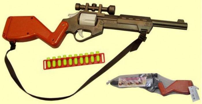 Игрушечное оружие Форма Винтовка c оптическим прицелом игрушечное оружие abtoys винтовка м 16