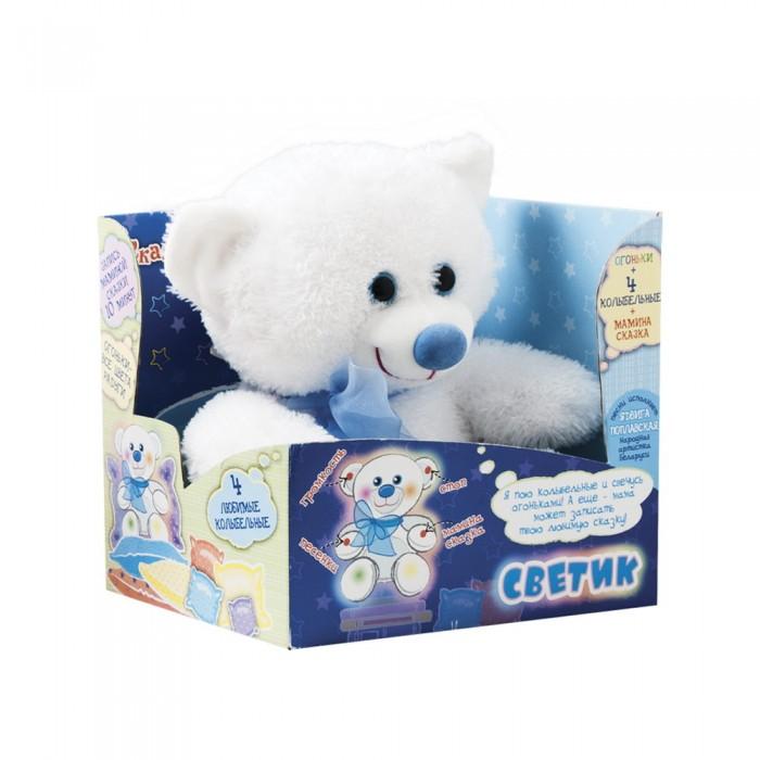 Купить Мягкие игрушки, Мягкая игрушка Dream makers Мягкая игрушка Мишка-светик