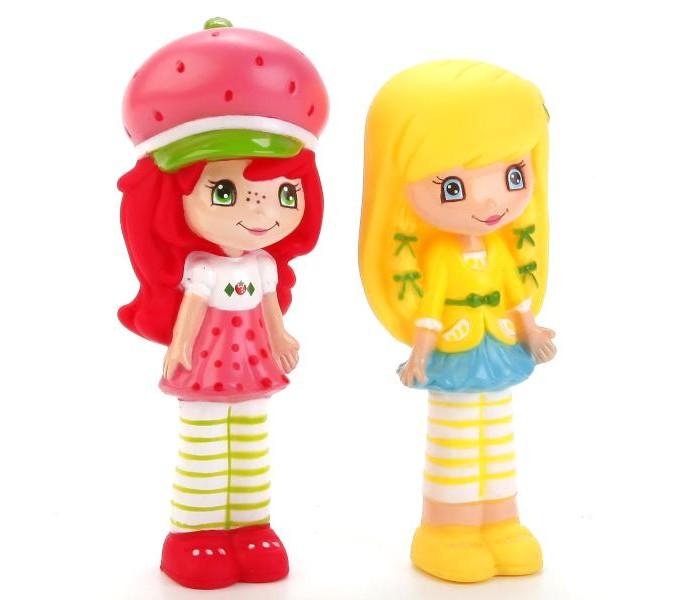 цена на Игрушки для ванны Играем вместе Набор игрушек для купания Земляничка 2 шт.