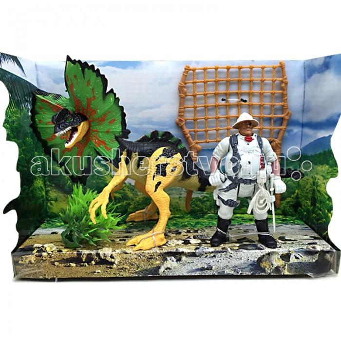 Игровые фигурки Happy Kin Набор динозавров 41095 игровые наборы esschert design набор игровой kg118