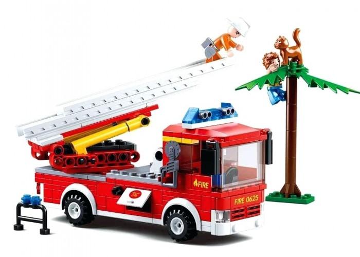 Картинка для Конструкторы Sluban Пожарная машина (269 деталей)