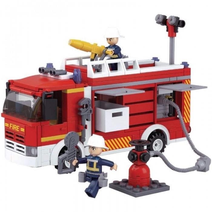 Картинка для Конструкторы Sluban Пожарная машина (345 деталей)