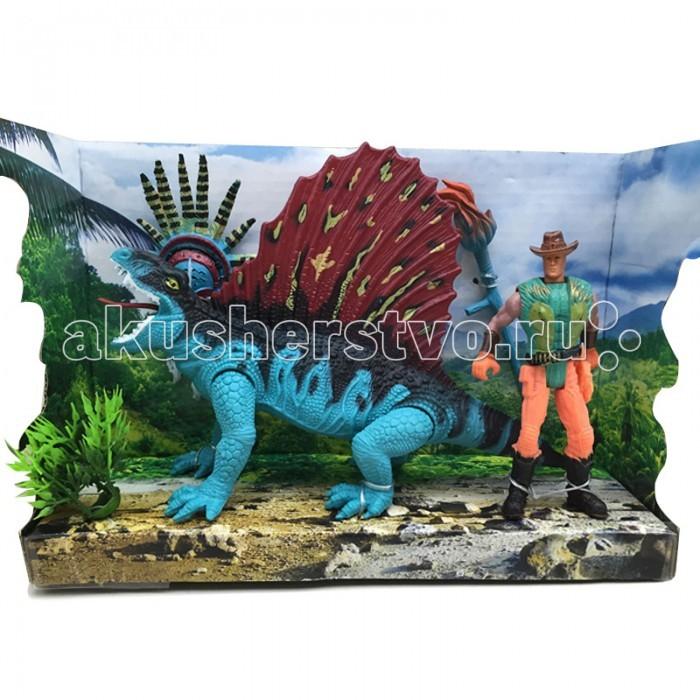 Игровые фигурки Happy Kin Набор динозавров 41096 игровые наборы tomy набор поезд динозавров тайни с вагончиком