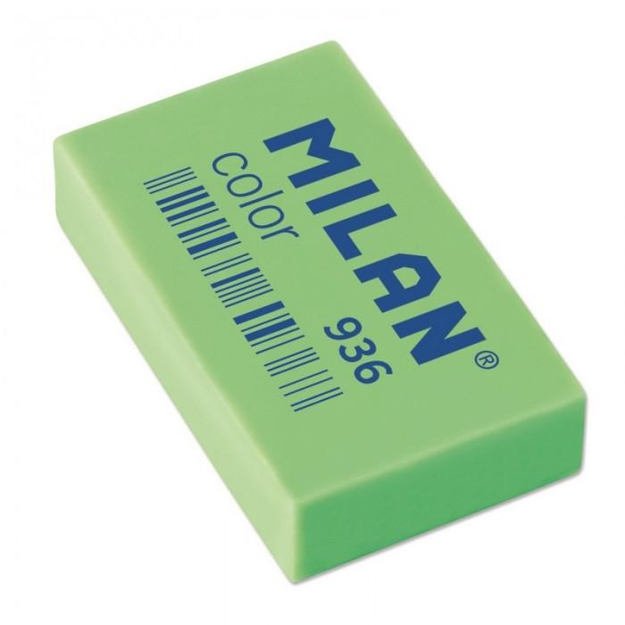 Канцелярия Milan Ластик пластиковый флуоресцентный 936