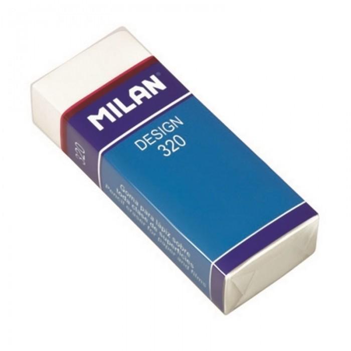 Канцелярия Milan Ластик пластиковый в картонном держателе Design 320