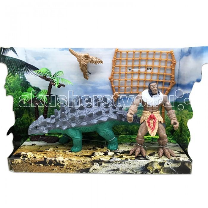 Игровые фигурки Happy Kin Набор динозавров 41098 игровые наборы esschert design набор игровой kg118