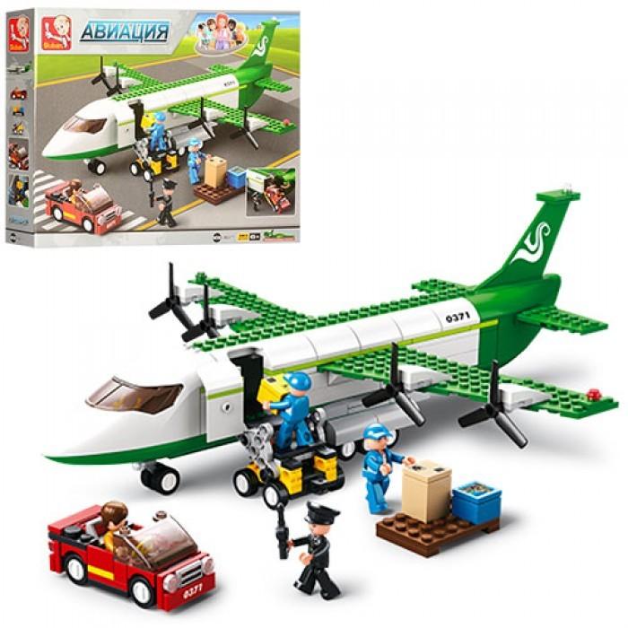 Картинка для Конструкторы Sluban Самолет (388 деталей)