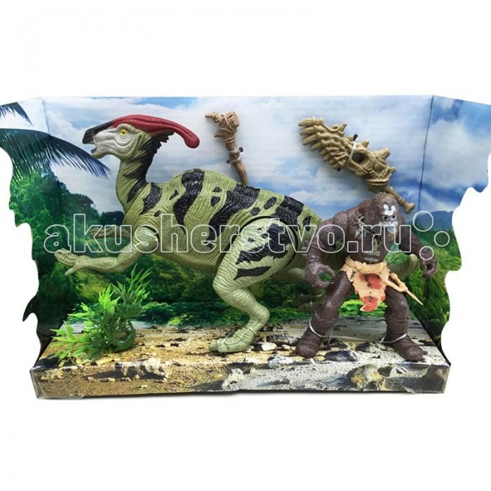 Игровые фигурки Happy Kin Набор динозавров 41100 игровые наборы esschert design набор игровой kg118