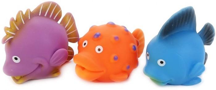 цена на Игрушки для ванны Играем вместе Игрушки для ванной Рыбки 3 шт.