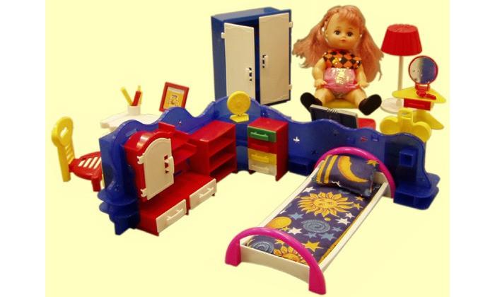 Кукольные домики и мебель Форма Набор мебели Кристина игровые наборы yako набор мебели кухня