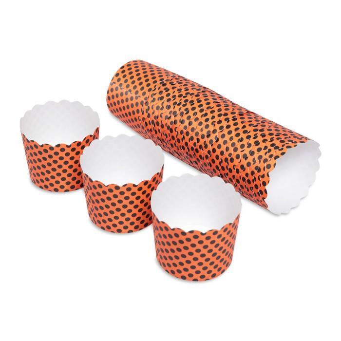 Выпечка и приготовление DOSH   HOME Форма для выпечки маффинов Vela Горошек 7 см 25 шт.