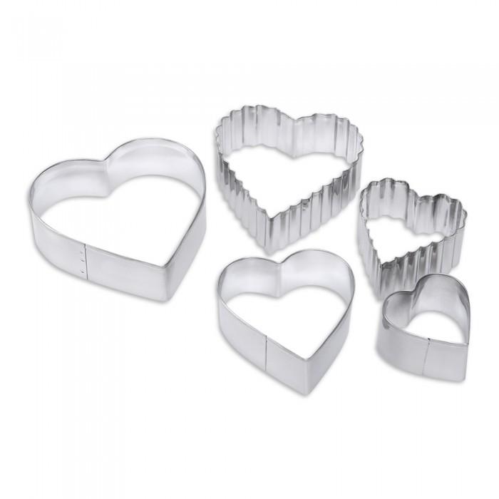 Выпечка и приготовление DOSH | HOME Формочки для печенья Vela Сердце 5 шт. формочки для кекса fidget go сердце 6 шт