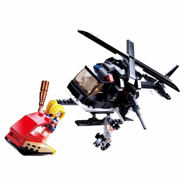 Картинка для Конструкторы Sluban Вертолёт спецназа (221 деталь)