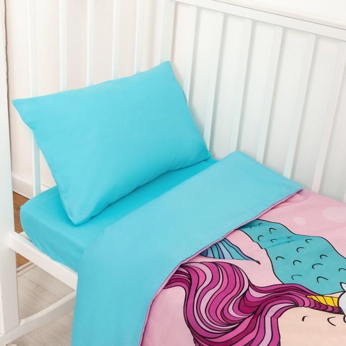 Постельное белье Крошка Я Really mermaid (3 предмета) постельное белье крошка я принцесса тиффани 3 предмета