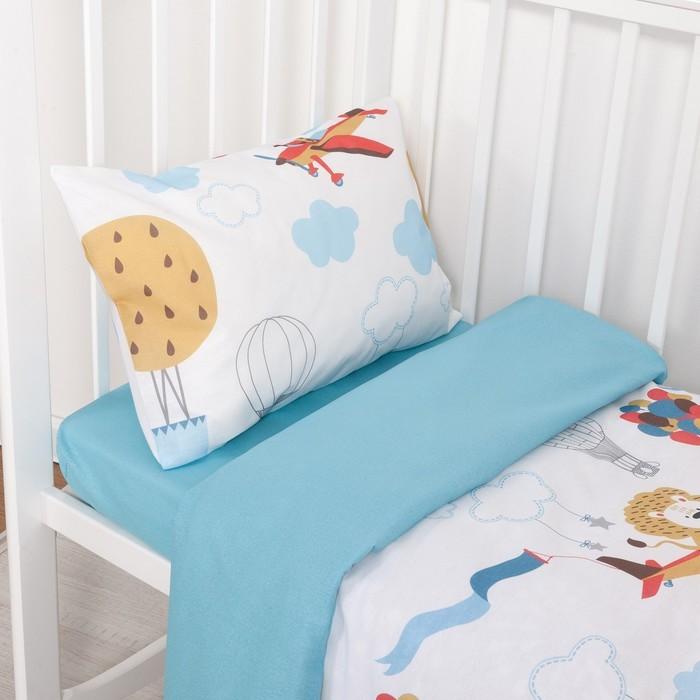 Постельное белье Крошка Я Авиатор (3 предмета) постельное белье крошка я принцесса тиффани 3 предмета