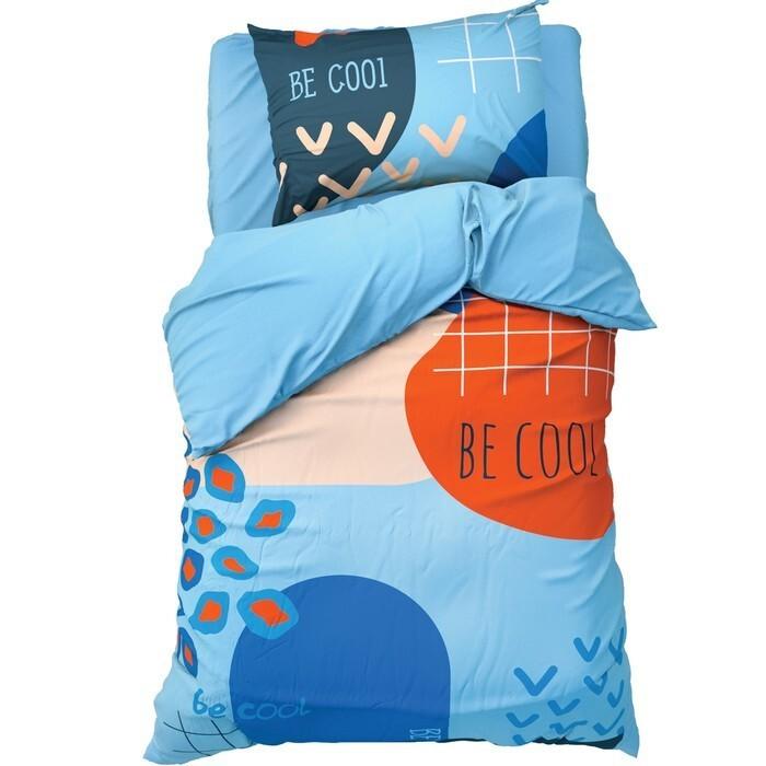 постельное белье 1 5 спальное Постельное белье 1.5-спальное Этель 1.5 спальное Be cool (3 предмета)