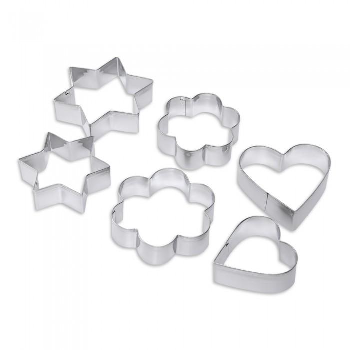 Выпечка и приготовление DOSH | HOME Формочки для печенья Vela Микс 6 шт. формочки для кекса fidget go сердце 6 шт