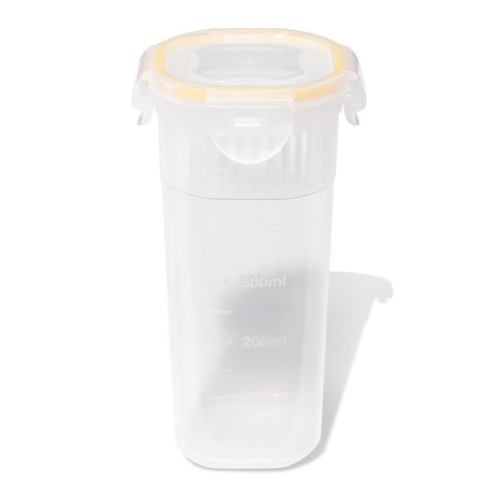 Контейнеры для еды DOSH | HOME Контейнер высокий Sagitta 0.6 л контейнеры для еды dosh home контейнер квадратный sagitta 0 3 л
