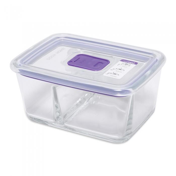 Контейнеры для еды DOSH | HOME Контейнер с разделителем прямоугольный Sagitta 0.6 л контейнеры для еды dosh home контейнер квадратный sagitta 0 3 л