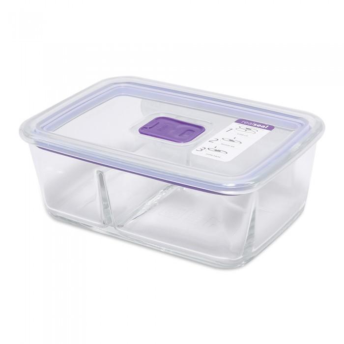 Контейнеры для еды DOSH | HOME Контейнер с разделителем прямоугольный Sagitta 1 л контейнеры для еды dosh home контейнер квадратный sagitta 0 3 л