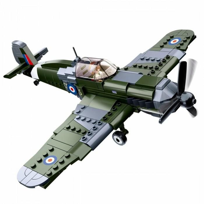 Картинка для Конструкторы Sluban Военный самолёт (290 деталей)