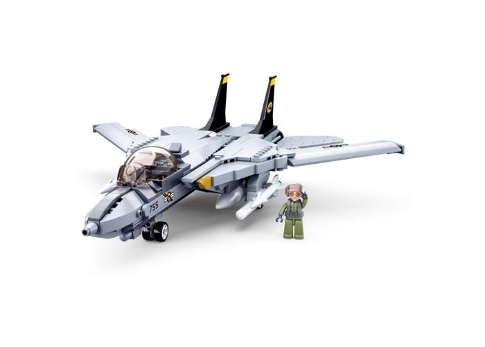 Картинка для Конструкторы Sluban Самолёт (404 детали)