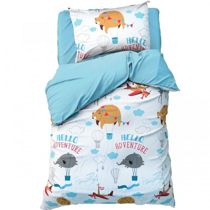 постельное белье 1 5 спальное Постельное белье 1.5-спальное Этель 1.5 спальное Авиатор (3 предмета) 4855284