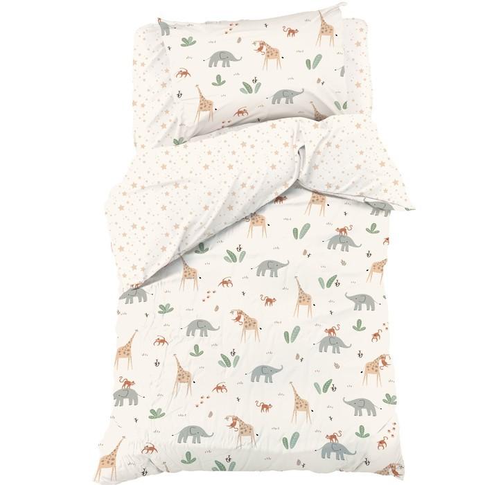постельное белье 1 5 спальное Постельное белье 1.5-спальное Этель 1.5 спальное Сафари (3 предмета)